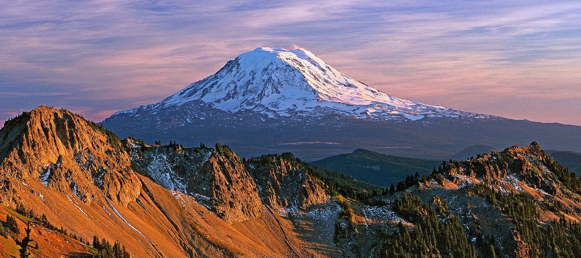 North side of Mount Adams from Goat Rocks